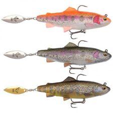 SAVAGE GEAR 4D TRUITE SPIN Alose LEURRE - brochet sandre Musky saumon