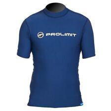 Prolimit - UV-Shirt Rashguard Lycra Badeshirt Schwimmshirt kurzarm dark blue