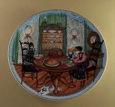 P Buckley Moss HELPING HANDS Anna PerennA Annual Art Plate + COA #1583 of 5000