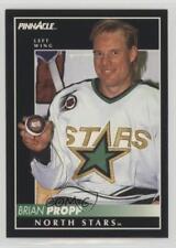 1992-93 Pinnacle #178 Brian Propp Dallas Stars Los Angeles Kings Minnesota North
