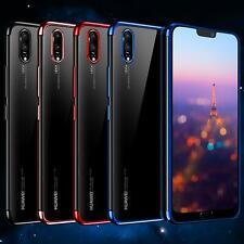 Huawei Hülle P20 / Pro / Lite Handy Slim Tasche Cover Bumper Case Stoßfest TPU