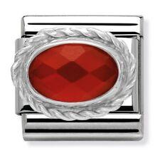 GENUINE Nomination Classic Silver Stone Charm 330603 330604