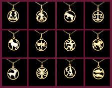 ECHT GOLD *** Anhänger Sternzeichen 15 mm Tierkreiszeichen Zodiak