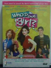 Tagalog/Filipino DVD: WHO'S THAT GIRL?