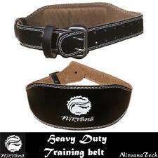 Nirvana Leather Weightlifting Belt Gym Training Belt Fitness Belt Three Size