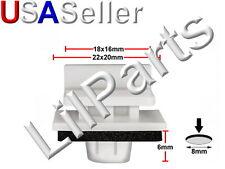 Side Skirt Sill Rocker Moulding Trim Clips Honda Civic Jazz 91514-SAA-003