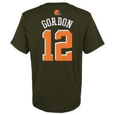 "Josh Gordon NFL Cleveland Browns ""Mainliner"" Player Jersey T-Shirt Youth (S-XL)"
