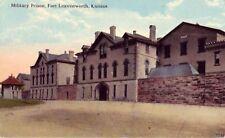 FORT LEAVENWORTH KANSAS - MILITARY PRISON 1917