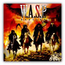 W.A.S.P. Babylon Music Car Bumper Sticker Decal - 3'' or 5''