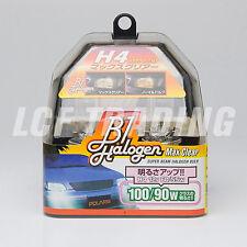 POLARG MAX CLEAR H4 HALOGEN HEADLIGHT BULB 60/55W HIGH OUTPUT - MADE IN JAPAN