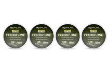 Brand New 2017 Korum Reflo Feeder Reel Line 250m - All Breaking Strains
