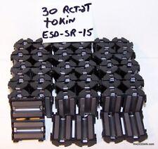 Rfi Emi filter suppressor ferrite core Tokin esd-sr-15