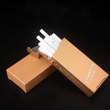 Fashion Women Slim Aluminum Cigarette Case Metal Holder Box G