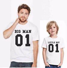 KIT DUE MAGLIETTE - PADRE E FIGLIO  BIG MAN