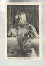 vecchia cartolina  reale armeria di torino