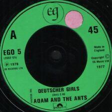 """ADAM AND THE ANTS deutscher girls uk ego 5 sticker on label 7"""" WS EX/"""