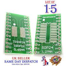 Adattatore PCB SOP24 SO24 SOIC 24 TSSOP 24 MSOP 24 a DIP24 Convertitore Board