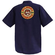 Gilmore Gasoline - Mechanics Graphic Work Shirt  Short Sleeve