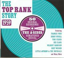 THE TOP RANK STORY 1959 - 2 CD BOX SET - ORIGINAL RECORDINGS