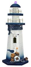 Phare marin en bois lumineux, achat/vente décoration marine 26 cm NEUF