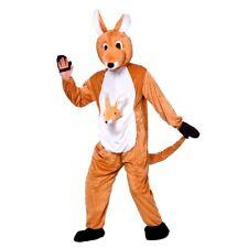 CANGURO Adulto + Bambino Joey Mascotte Costume Costume Da Animale Zoo Australiano