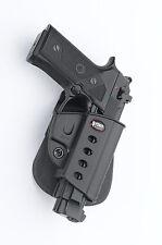 Fobus brv para rotación holster pistolera Beretta Vertec .9mm & .40 cal/Taurus pt92, m9