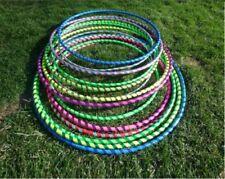 4 x Multicolour Hula Hoop Children's Adult Fitness Activity Plastic Hoola Hoop