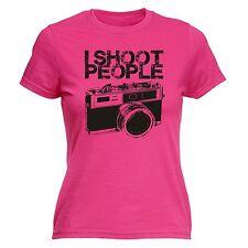 Disparo personas Cámara Para Mujer T-Shirt Cam Foto Fotografía Divertido Regalo De Cumpleaños