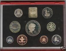 1999 luxe rouge preuve ensemble de 9 pièces