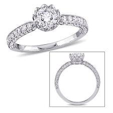 Amour Laura Ashley 1 1/4 CT TW Diamond Bridal Ring 14k White Gold