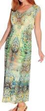 NEW - One World Micro Jersey Sleeveless V-Neck Maxi Dress