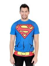 Superman Men's Performance Athletic Costume T-Shirt
