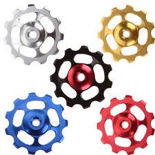 2* 11T Bike Bearing Derailleur Jockey Wheel Pulley for Shimano Sram 8/9/10 Speed