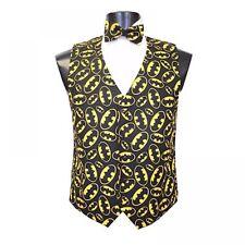 Batman The Dark Knight Tuxedo Vest and Bowtie
