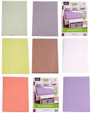 Home Ideas  Jersey Spannbettlaken 100/160 x 200cm - 100% Baumwolle versch.Farben