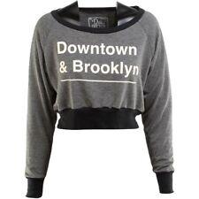 $50 Dirty Cotton Scoundrels Women Brooklyn Crop Pullover Sweater SZ M