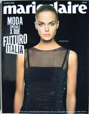 Marie Claire-'08-SHANNAN CLICK,Luca Zingaretti,Laura Morante,Patti Smith,Chiatti