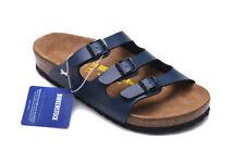 BIRKENSTOCK Florida - Summer - Sandals - Colour:Blue - Birko-Flor - Regular