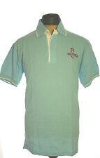 La Camisa Trachtenpolo Shirt Polo Tracht Logo Stickerei La Camisa blau Gr 52
