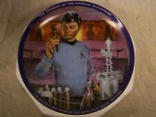STAR TREK Hamilton Collector Plates DR MCCOY Limited Edition