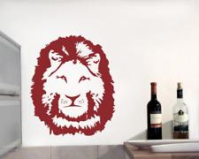 Wandtattoo Löwenkopf Wanaufkleber Löwe 25 Farben 5 Größen Wandaufkleber Sticker