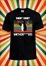 Pingu Noot Noot Motherf*ckers Rude Men Women Vest Tank Top Unisex T Shirt 2261