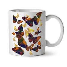 Butterfly CUBISMO ARTE Bug colore bianco NUOVO Tè Tazza Da Caffè 11 OZ | wellcoda