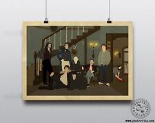 Ce que nous faisons dans l'ombre minimaliste Movie Poster posteritty Minimal wwdits Art