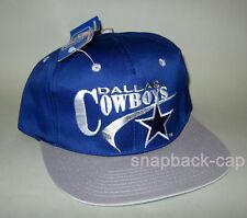 N.O.S. Cappello Baseball Vintage Dallas Cowboys NFL Calcio Vecchia Scuola 90'S