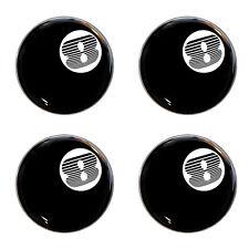 Triumph TR8 8 Ball Logo Self Adhesive Set of 4 Gel Wheel Centres