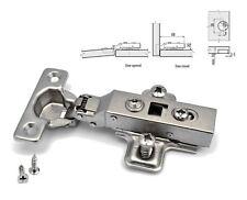 GTV6 SOFT CLOSE Guardaroba Armadietto Cucina Mini cardine della porta 26mm Piastra e Viti per