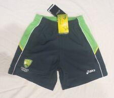 Cricket Australia Asics womens men player training practice shorts green Nwt new