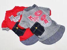 Hundepullover Hunde Sweatshirt - im Sportdesign - Baumwolle - L / XL