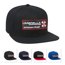 Umbrella Corporation Resident Evil Logo movie patch Flat Bill caps hats